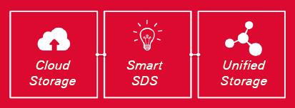 Cloud Storage, Smart SDS, Unified Storage